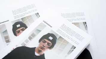 The /r/streetwear subreddit is re-imagined as a print magazine