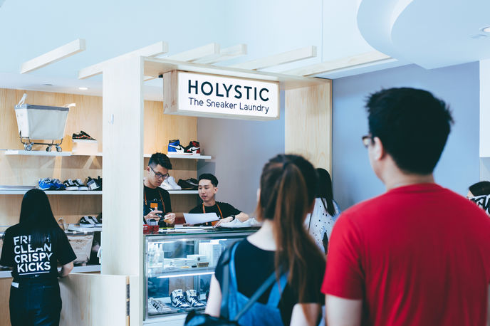 Holystic Sneaker Laundry, Singapore