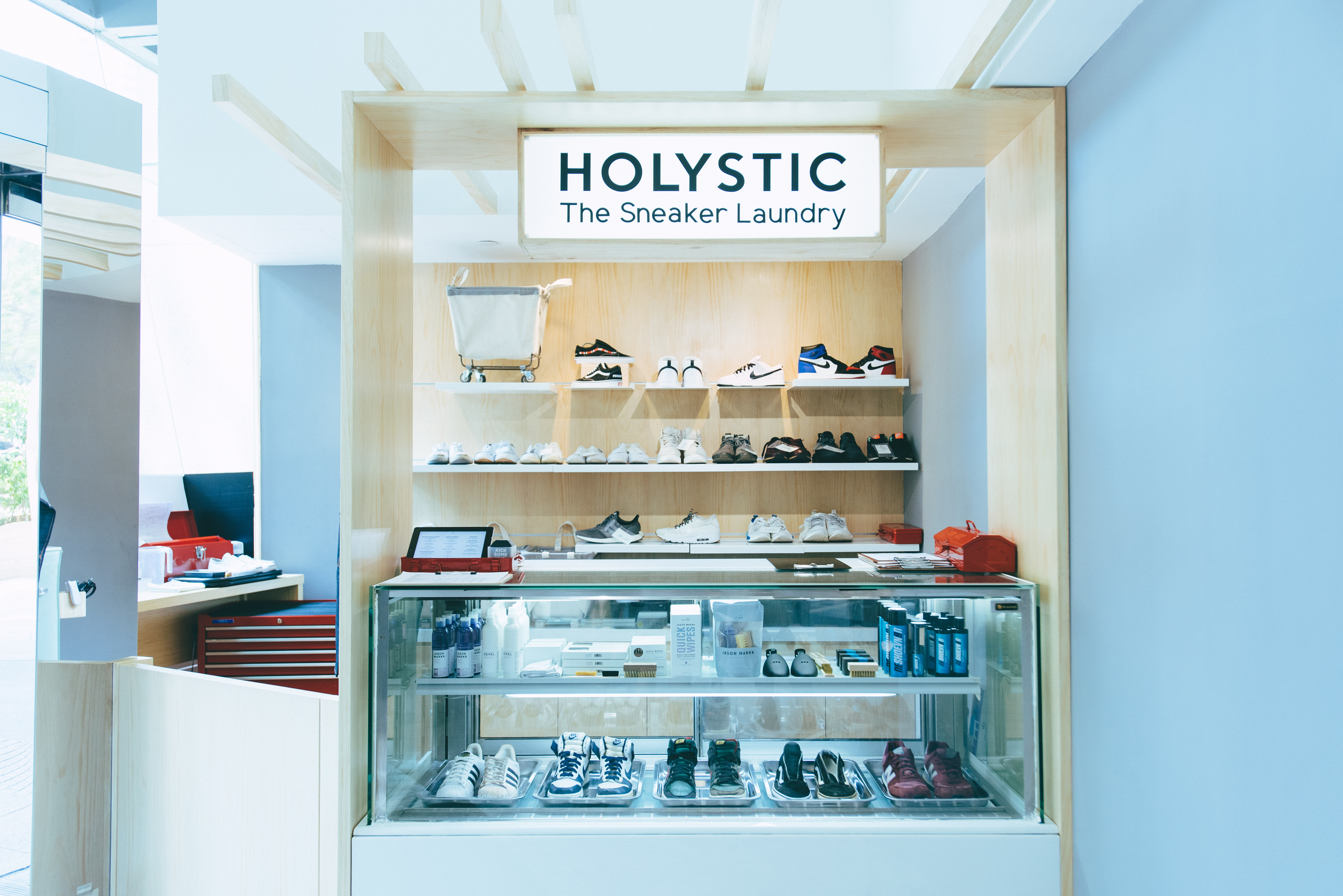 Holystic is a full service laundry for