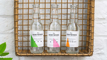 Sekforde's botanical mixers enhance whisky and rum
