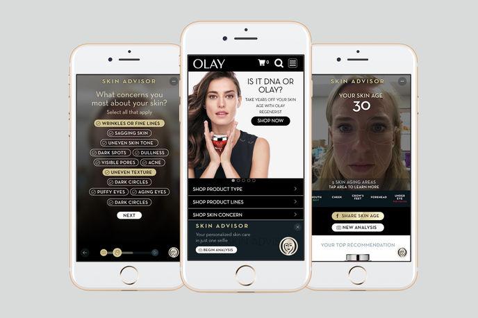 Olay Skin Advisor app