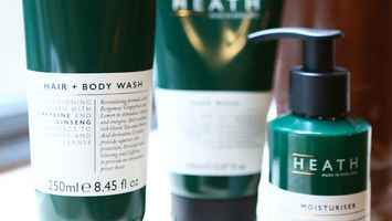 Heath is a new men's beauty brand for urbanites