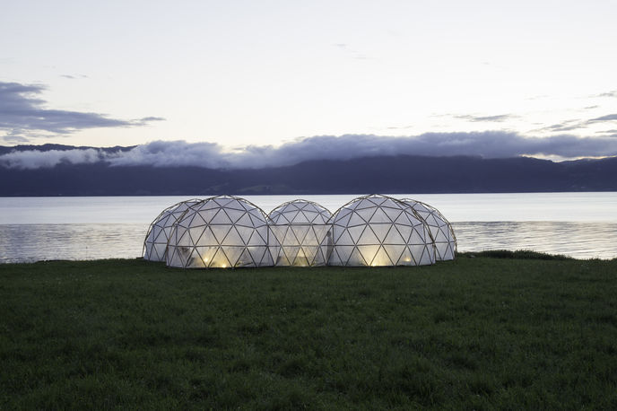 The Pollution Pods by Michael Pinksy and Climart, Norway
