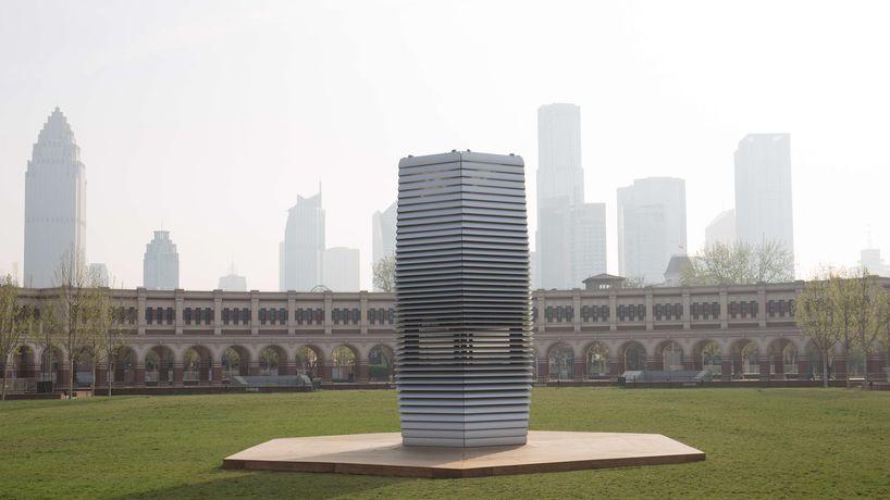 Smog Free Tower by Studio Roosegaarde, Netherlands