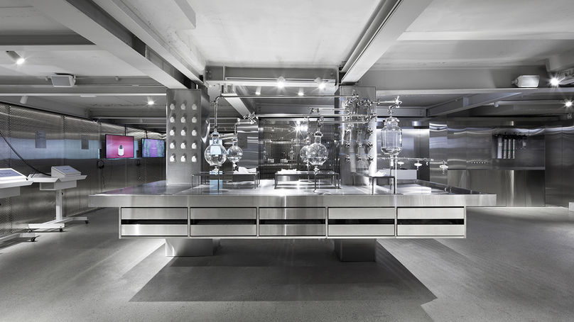 Dr. Jart Flagship Store by Betwin Space Design, Seoul. Photography by Yong-joon Choi