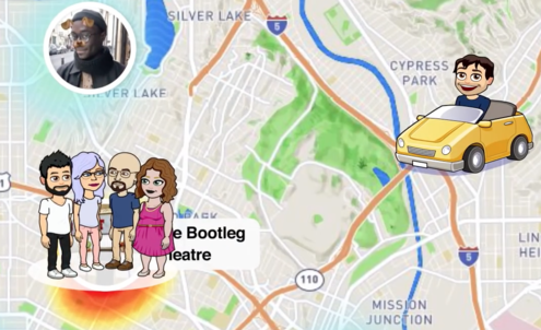 Snapchat encourages real-world exploration through social mapping