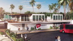 Virgin is opening a beach-side airport lounge