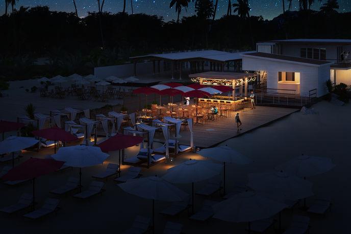 The Departure Beach by Virgin, Barbados