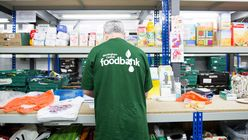 Food bank use in the UK is on the rise