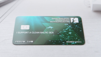Award-winning biodegradable credit card tackles climate change