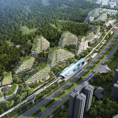 Liuzhou Forest City by Stefano Boeri Architetti, Italy