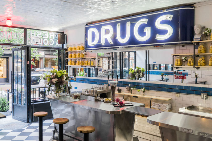 The Drug Store by Dirty Lemon, New York