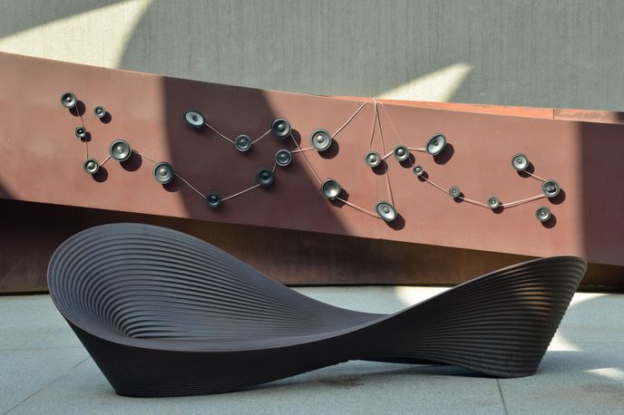 Sound and Matter in Design exhibition at Design Museum Holon, Israel