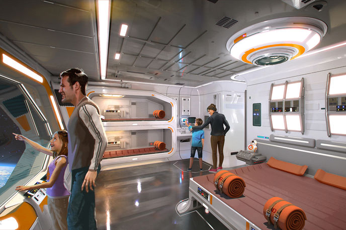 Star Wars Hotel at Walt Disney World Resort, US