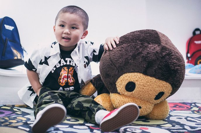 Bape Kids spring/summer 2017