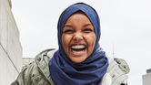 3. American Eagle has included a denim hijab in its new collection