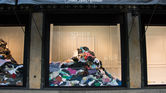 2. Vetements fills shop window with old clothes