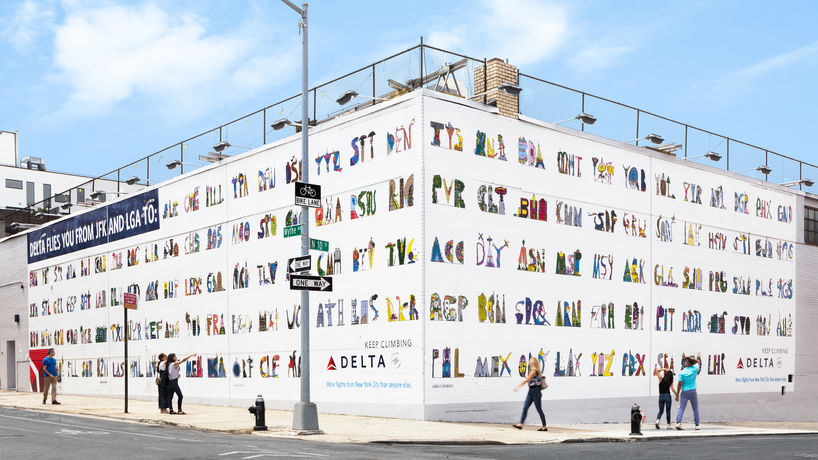 Delta Airport Codes by Wieden & Kennedy, New York