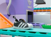 Adidas aims to appeal to kids and other stories