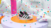 1. Adidas campaign targets the children's market