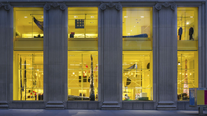 Calvin Klein flagship store by Sterling Ruby, New York. Photography by Elizabeth Felicella and Esto Photographics