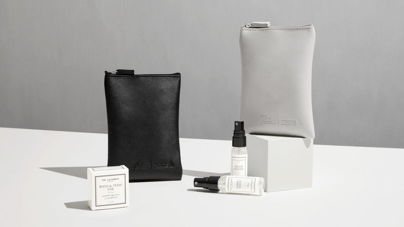 Fabric Care Amenity Kit by The Laundress and Singapore Airlines