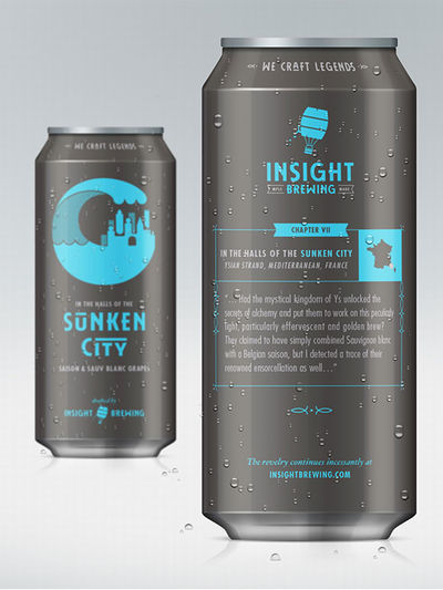 Insight Brewing branding by Riley Hayes, Minneapolis