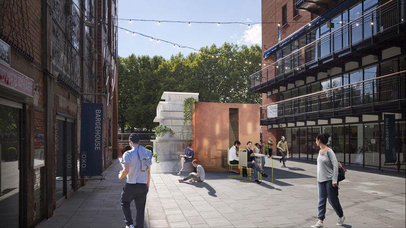 Mini Living Urban Cabin by Mini and Sam Jacob Studio for London Design Festival
