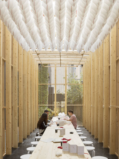 On Repeat by Universal Design Studio and The Office Group for London Design Festival