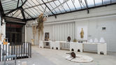 1. Faye Toogood creates shrine space at London show