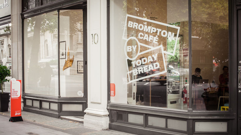 The Brompton Café by Today Bread for London Design Festival