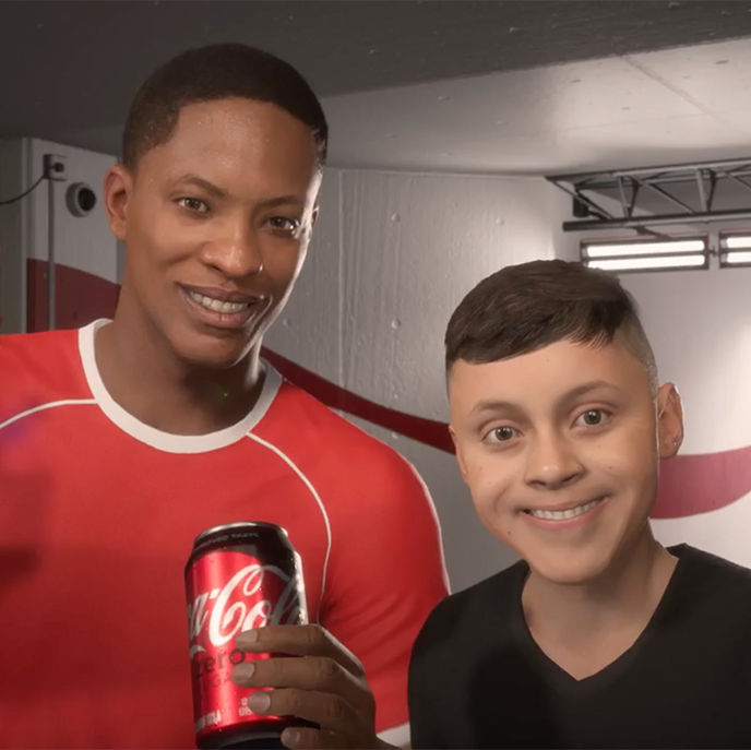 Uplifted Alex by The Coca-Cola Company and EA Sports, US