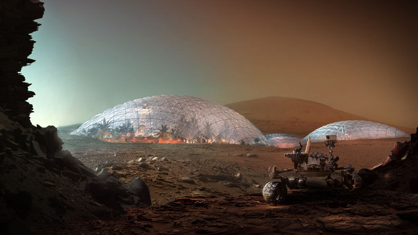 Mars Science City by Bjarke Ingels Group (BIG)