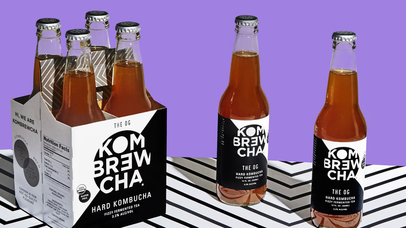 Hard Kombucha by Kombrewcha, New York