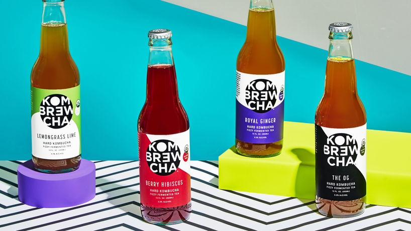 Hard Kombucha by Kombrewcha, New York