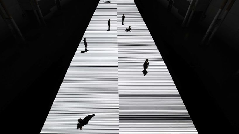 Ryoji Ikeda for Everything at Once at The Vinyl Factory, London