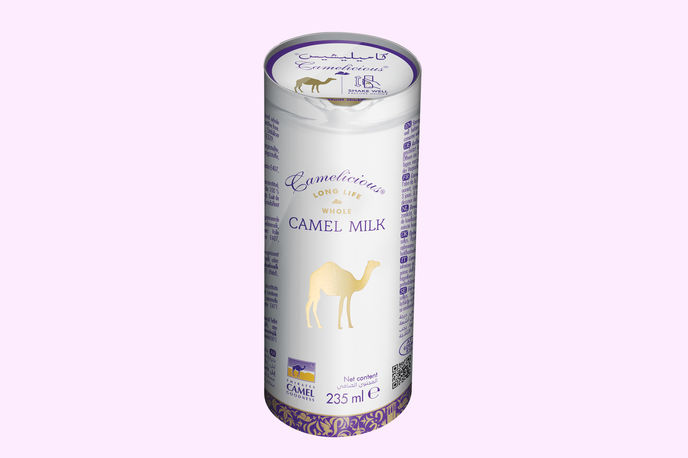 Camel Milk by Camelicious, UK