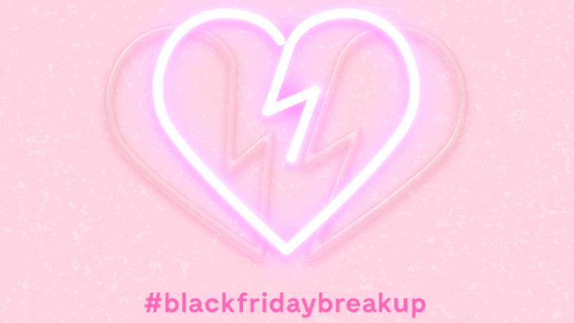 #BlackFridayBreakUp by ModCloth, US