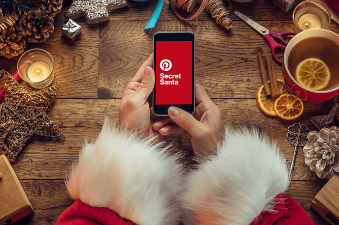 Secret Santa by Pinterest