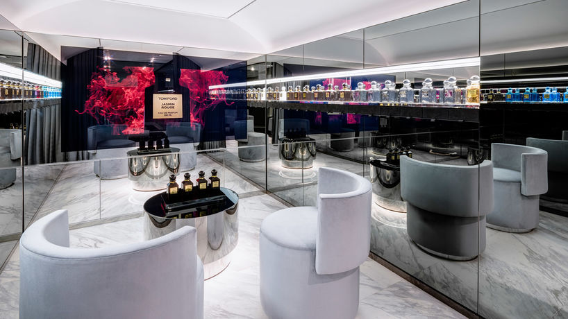 Tom Ford Beauty store, London