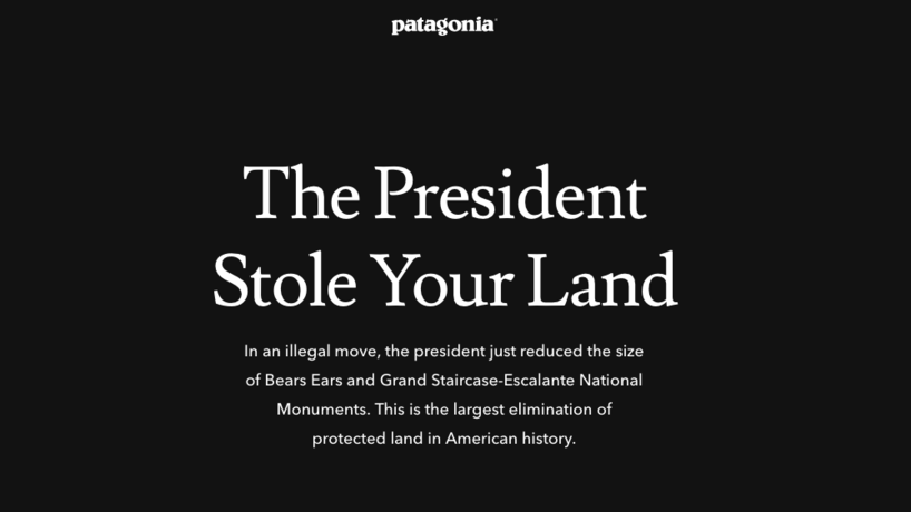 Protect Public Lands by Patagonia, US