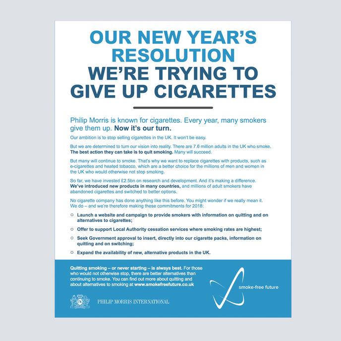 Philip Morris campaign