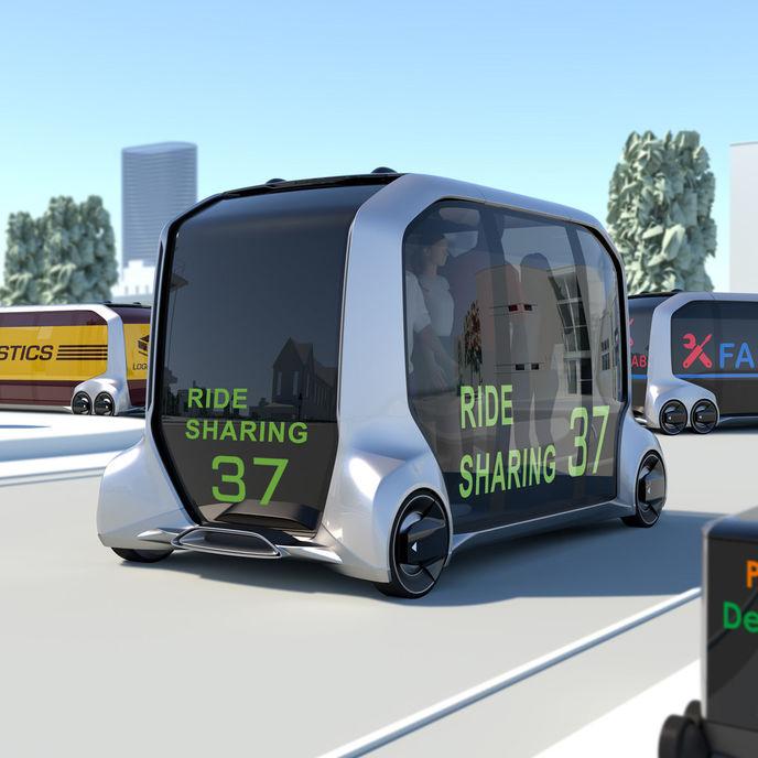 e-Palette concept by Toyota, Las Vegas
