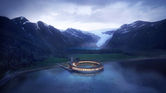 4. Snøhetta shows plans for world's first energy-positive hotel