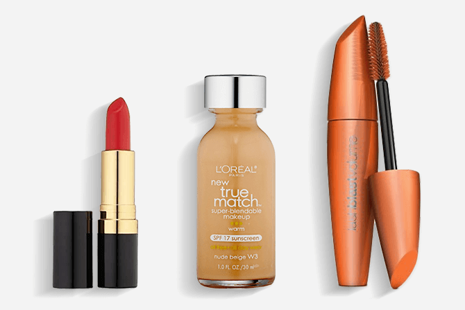 Beauty products available on Amazon