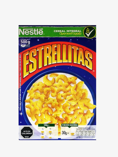 Estrellitas packaging after the regulations