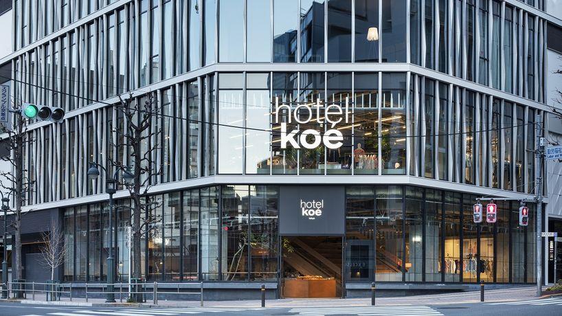 Hotel Koé, Tokyo. Photography by Kenta Hasegawa