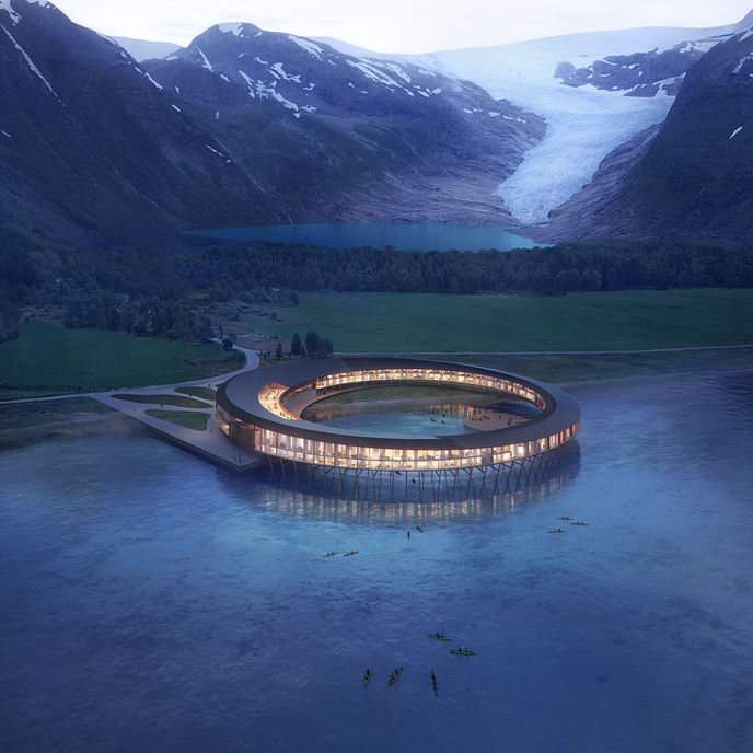 Svart hotel by Snøhetta, Norway
