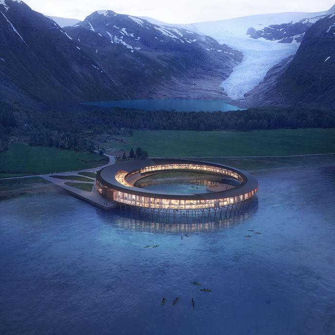 Svart hotel by Snøhetta, Norway