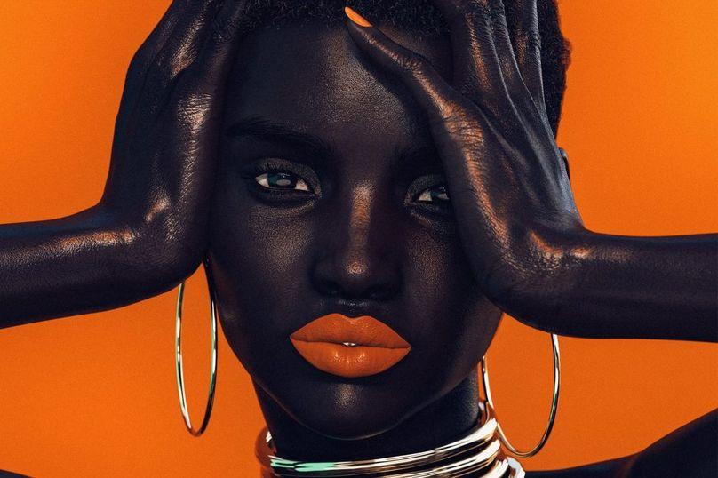 Digital supermodel Shudu Gram